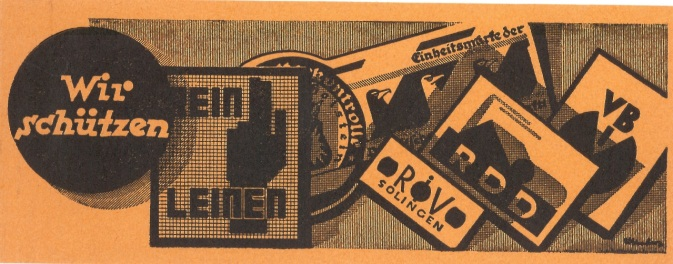 Erste Gütezeichen Nutzer 1927