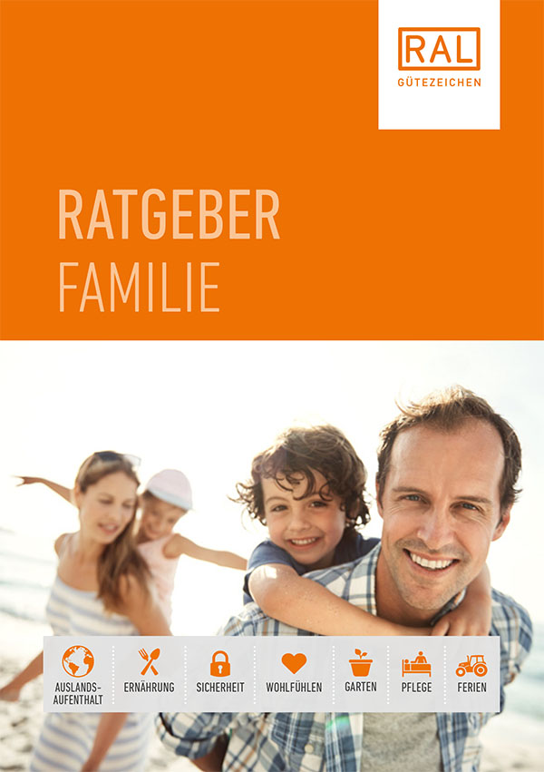 Front des RAL Ratgeber Familie